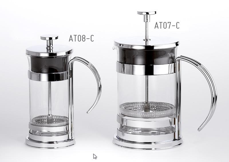 Teiera Caffettiera french press NaturTè 1 LT