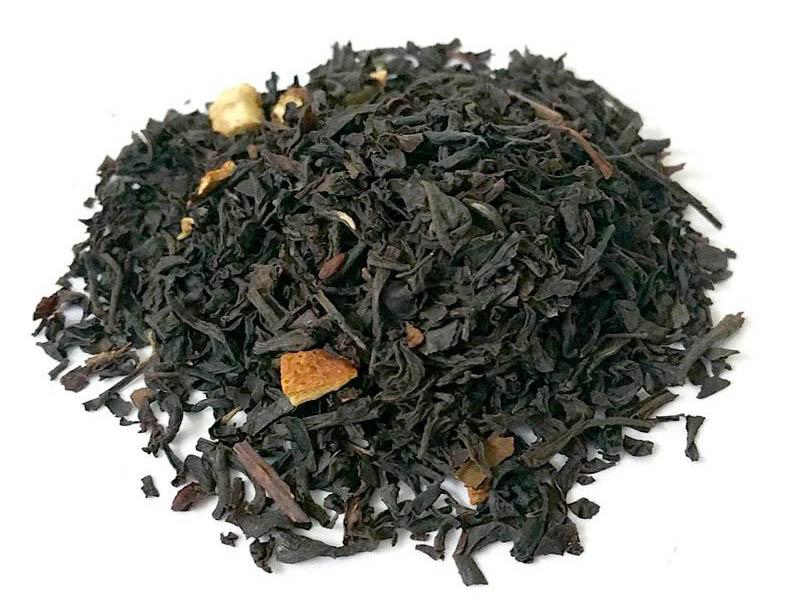 Il t nero un tipo di t composto dalle foglie di - Foglie limone nere ...