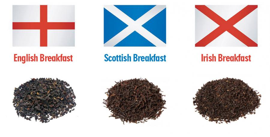 Qual'è la differenza tra Tè English Breakfast, Irish Breakfast e Scottish Breakfast?