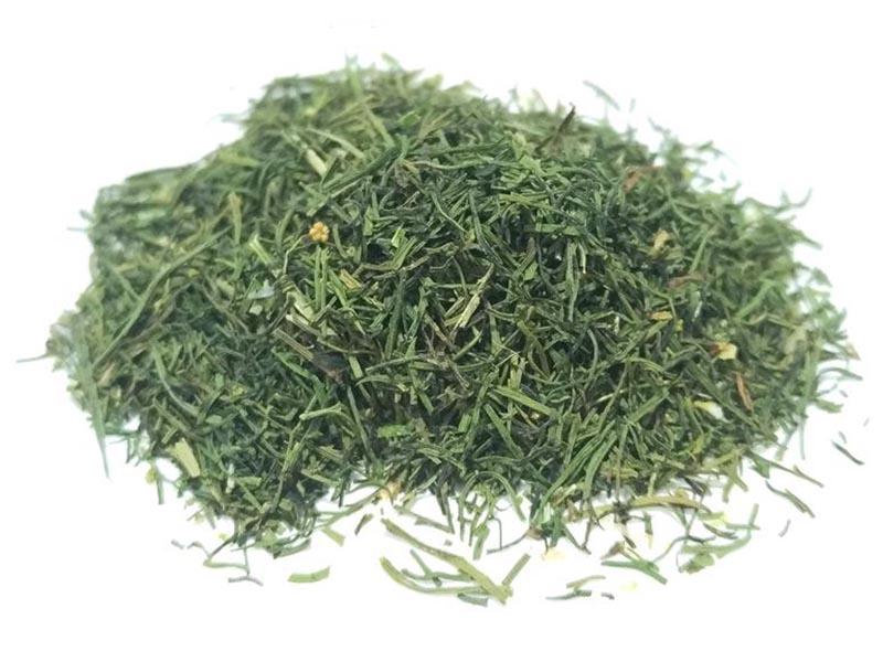 Aneto (Dill) punte delle foglie