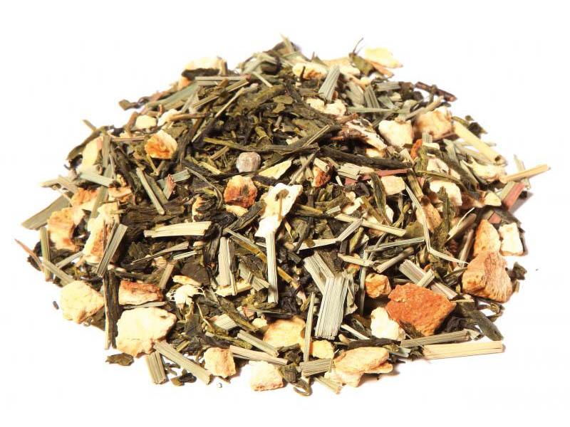 Tè verde zenzero limone