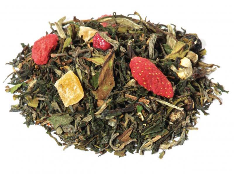 Tè bianco aromatizzato frutta tropicale