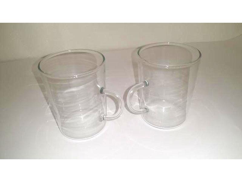 Bicchiere da tè in vetro borosilicato