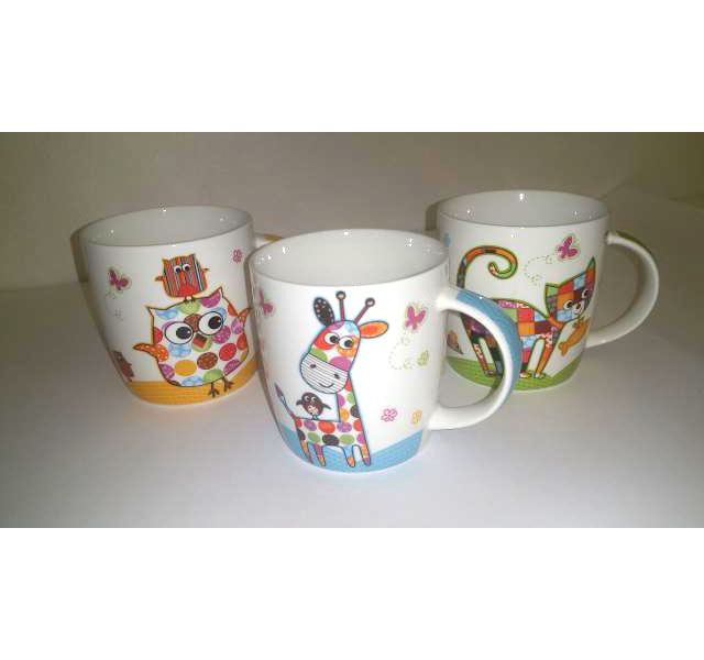 Tazza Mug fantasia animali modello Peppino 280cl