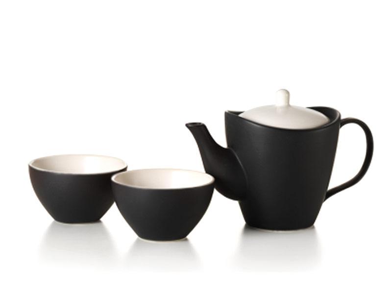 Teiera in porcellana con 2 coppe modello Kazuio
