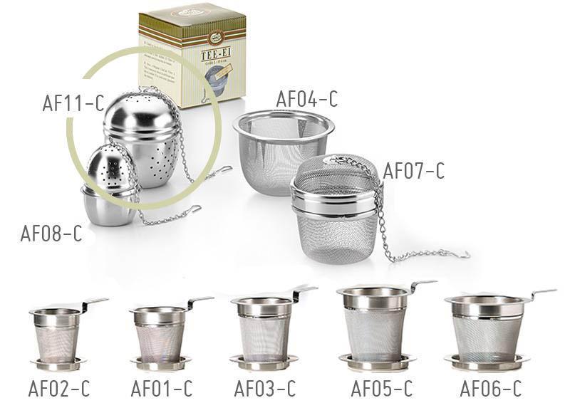 Filtro Colino da tè a uovo diametro 5,5cm