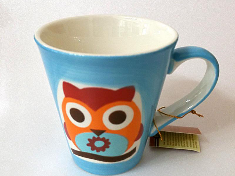 Tazza ceramica Magic Owls