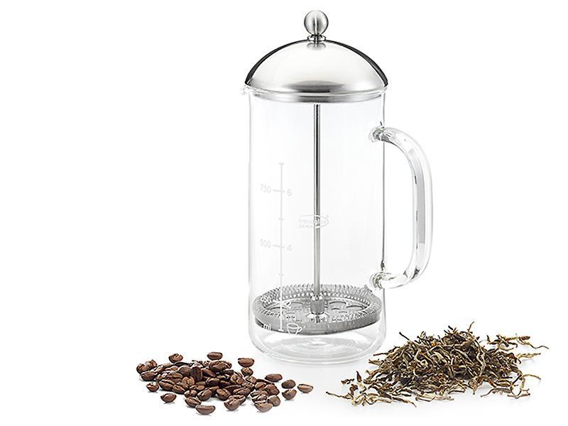 Teiera Caffettiera in vetro Swarsk 8 tazze 1 Litro