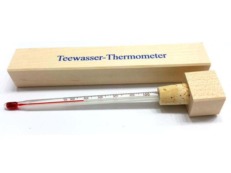Termometro Infusioni -10/+100 gradi con custodia legno