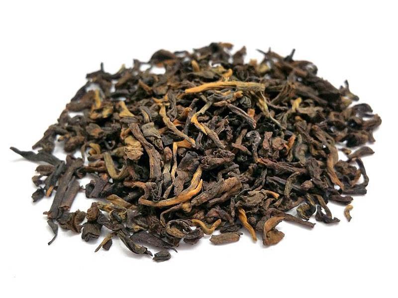 Tè nero Pu Erh