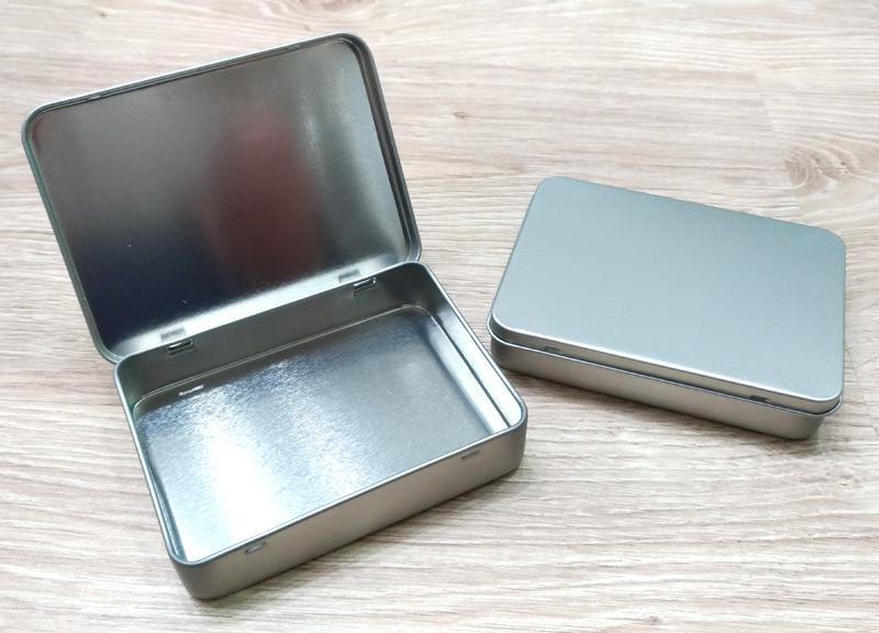 Scatola metallo 102x75x20