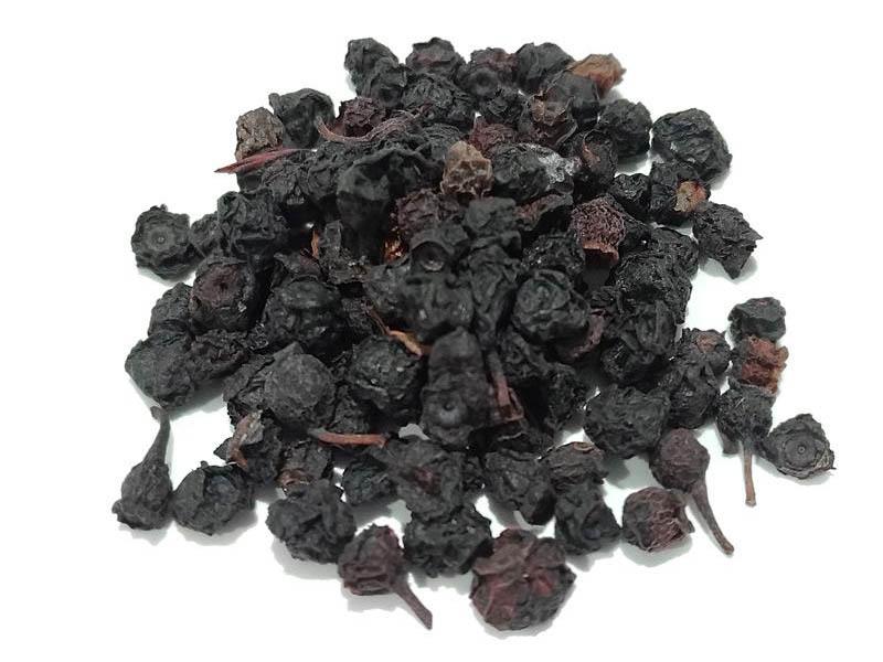 Mirtillo Nero bacche essiccate