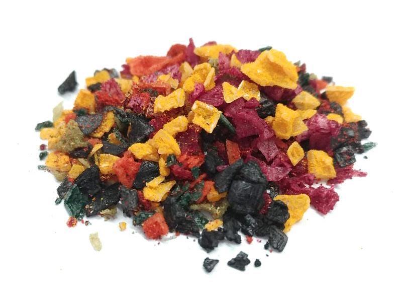 Cristalli di sale Multicolore