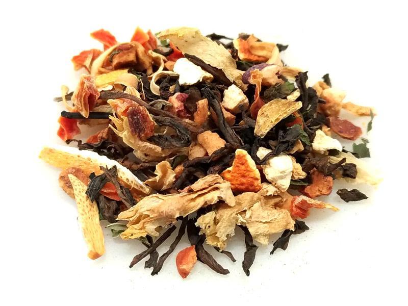 Tè Pu Erh Arancia e Fico d'india