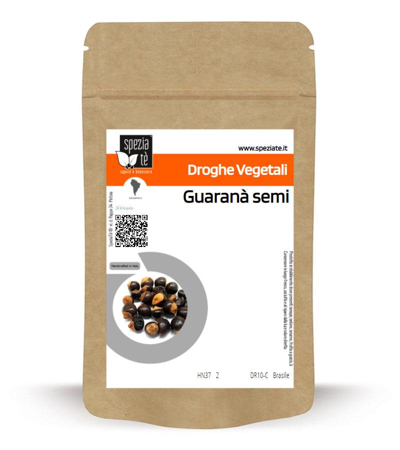 Guaranà semi in Busta richiudibile Salva Fragranza