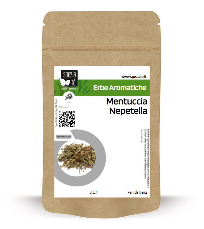 Mentuccia Nepetella in Busta richiudibile Salva Fragranza