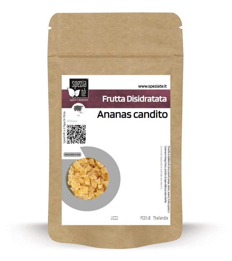 ananas candito in Busta richiudibile Salva Fragranza