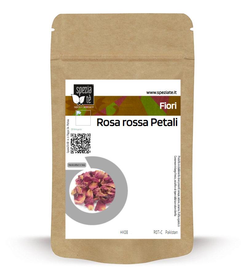 Petali di rosa in Busta richiudibile Salva Fragranza