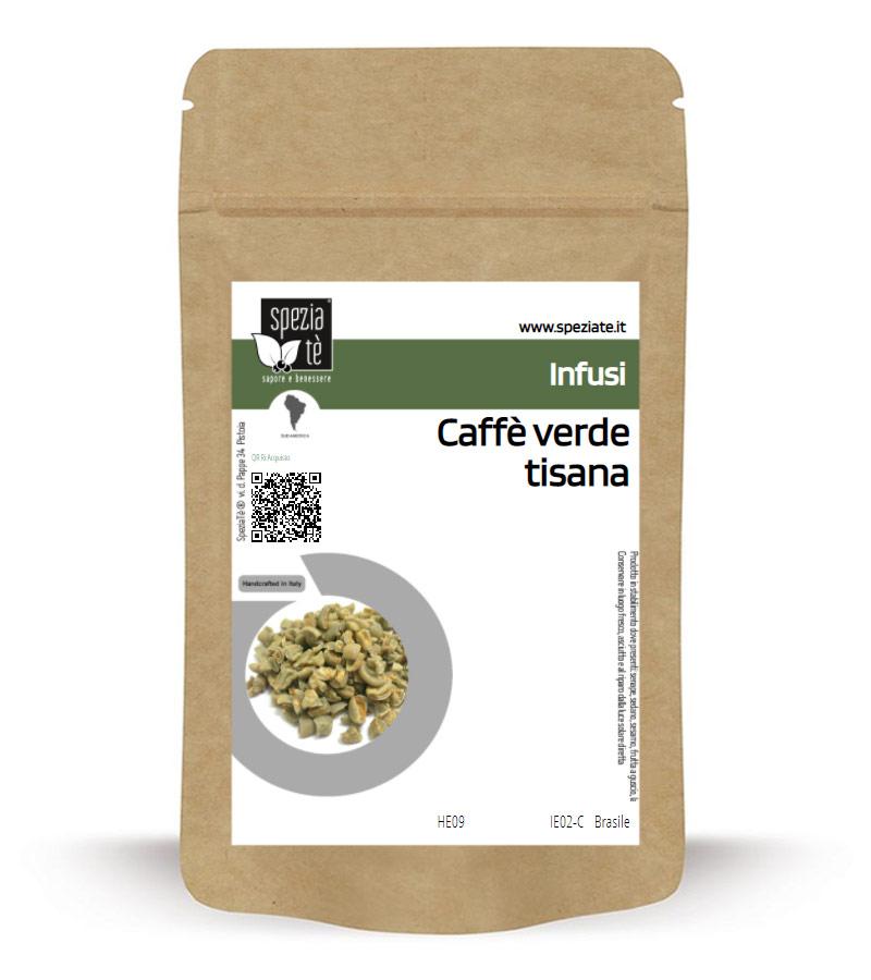 Caffè verde tisana in Busta richiudibile Salva Fragranza