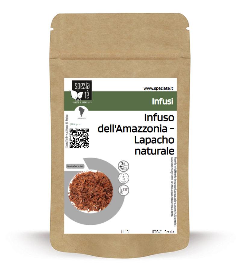 Tè dell'Amazzonia - Lapacho naturale in Busta richiudibile Salva Fragranza