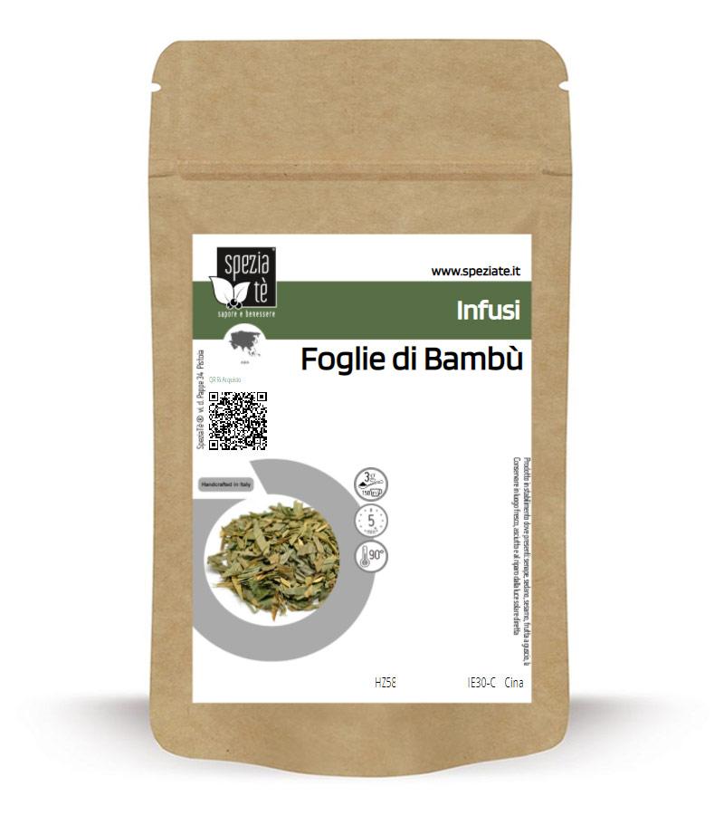 Infuso di Foglie di Bambù in Busta richiudibile Salva Fragranza