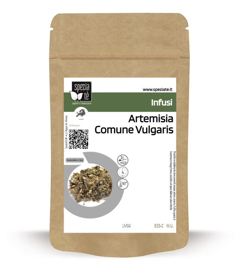 Artemisia Comune Vulgaris in Busta richiudibile Salva Fragranza
