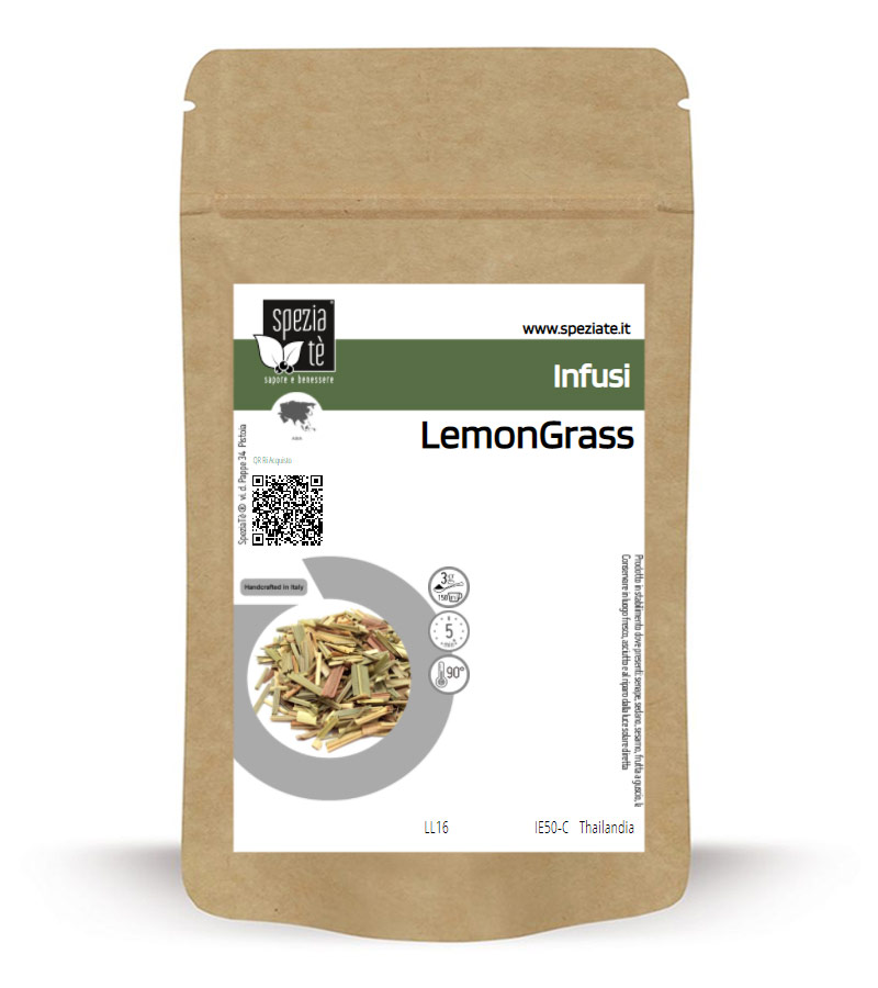 LemonGrass in Busta richiudibile Salva Fragranza