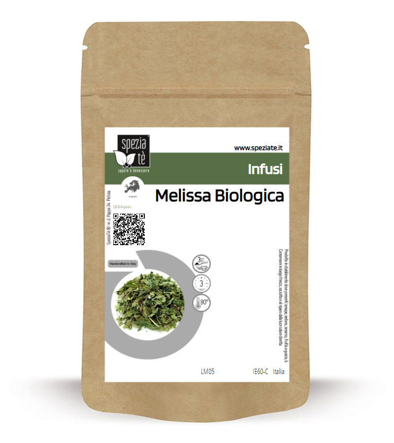 Melissa Biologica in Busta richiudibile Salva Fragranza