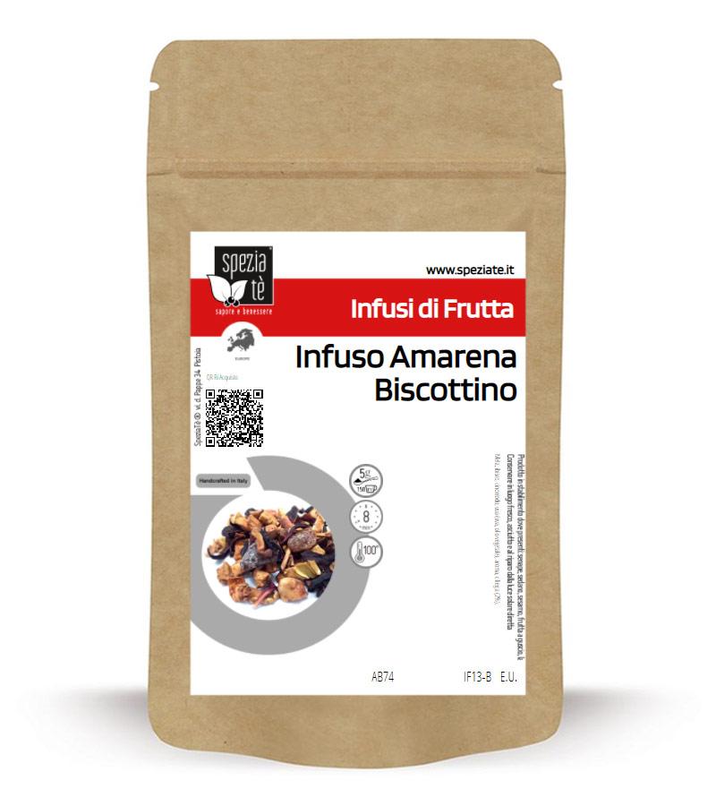 Infuso Amarena Biscottino in Busta richiudibile Salva Fragranza