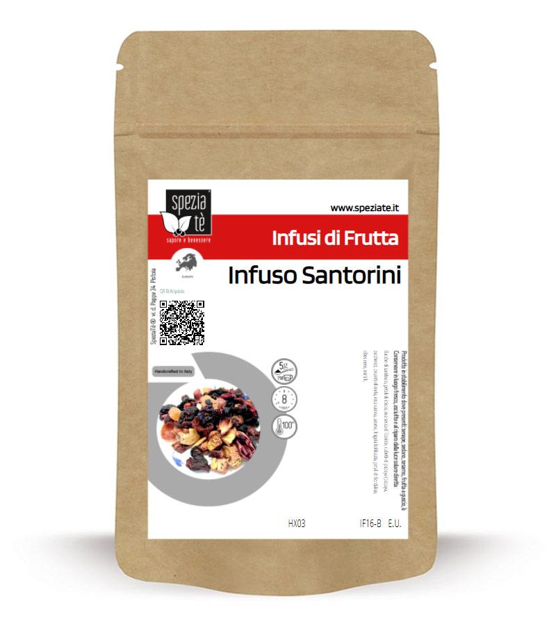 Infuso Santorini in Busta richiudibile Salva Fragranza