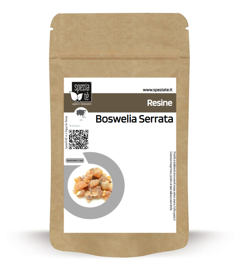 Boswelia Serrata Resina in Busta richiudibile Salva Fragranza