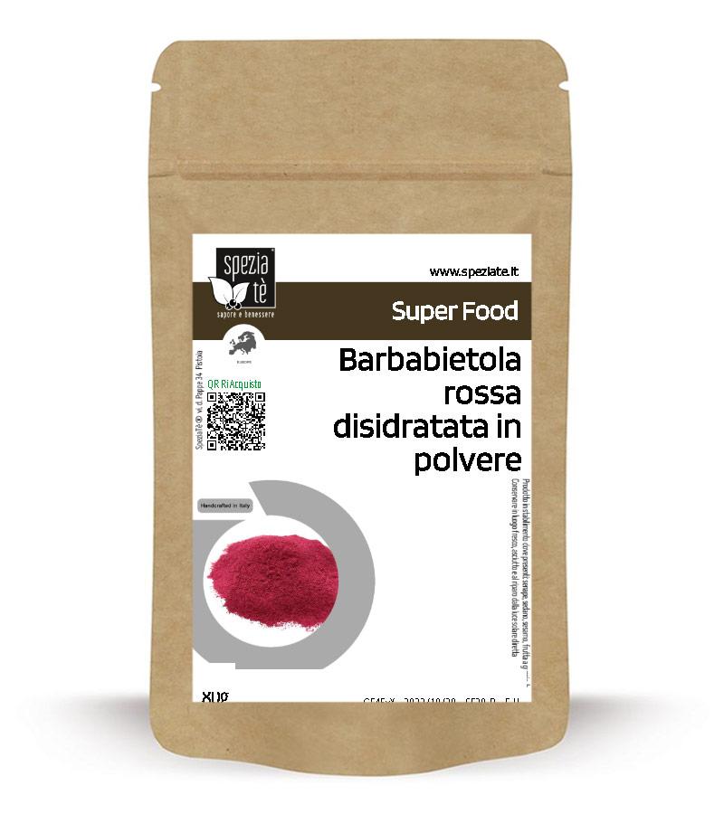 Barbabietola rossa polvere in Busta richiudibile Salva Fragranza