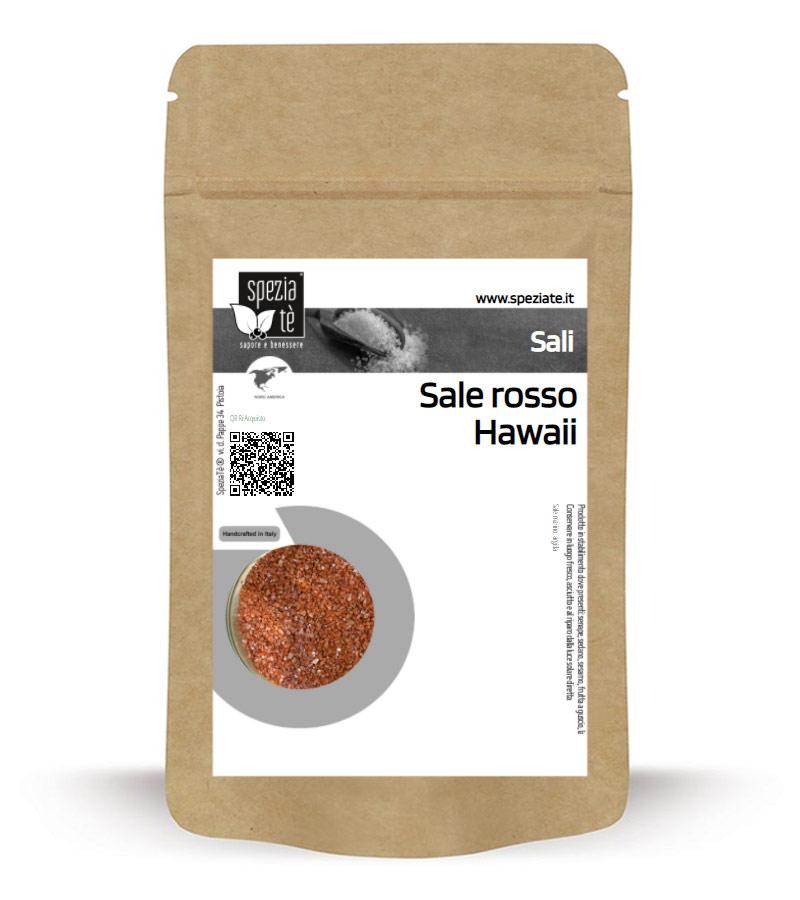 Sale rosso Hawai QGD in Busta richiudibile Salva Fragranza