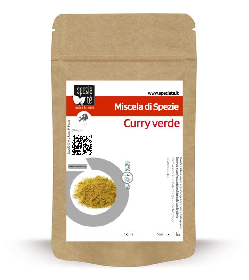 Curry verde in Busta richiudibile Salva Fragranza
