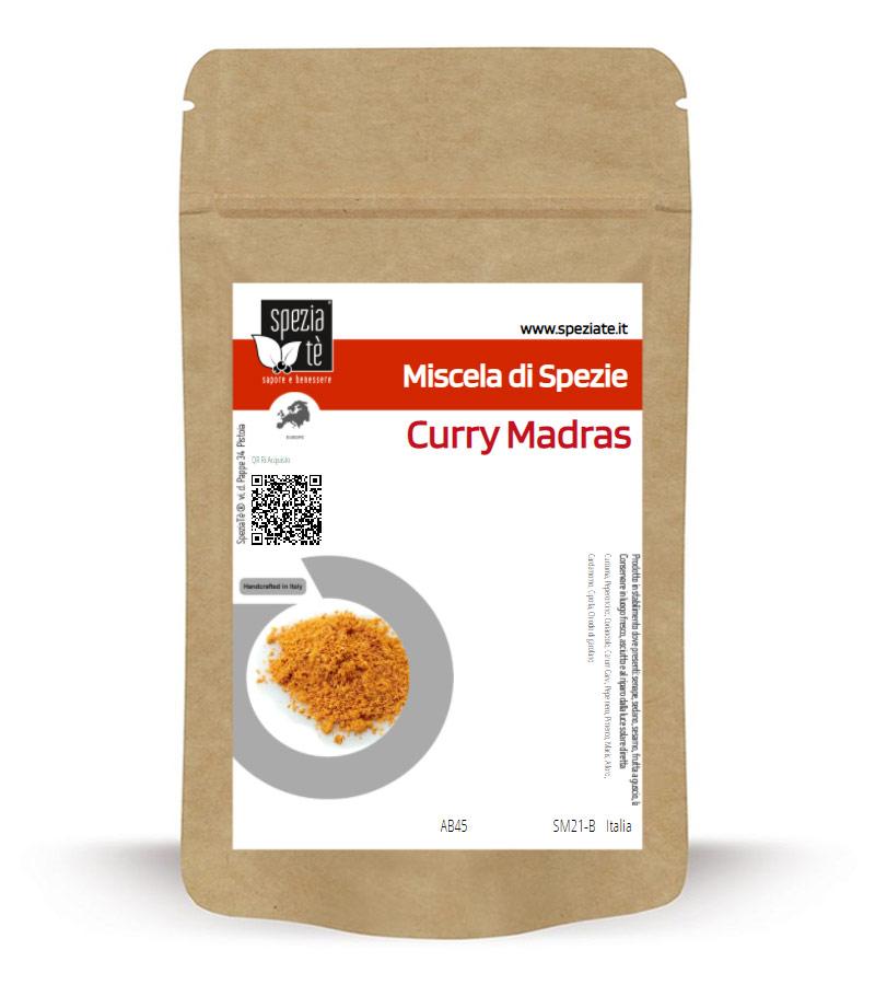 Curry Madras in Busta richiudibile Salva Fragranza