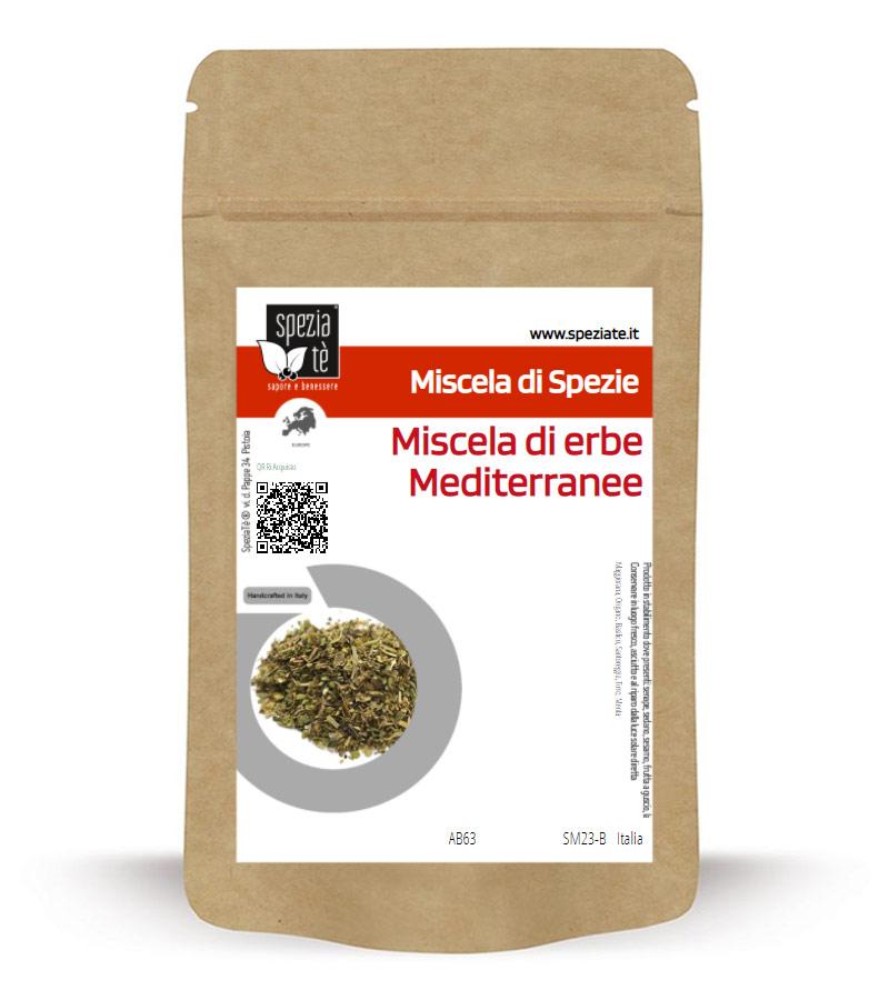 Miscela di Erbe Mediteranee in Busta richiudibile Salva Fragranza