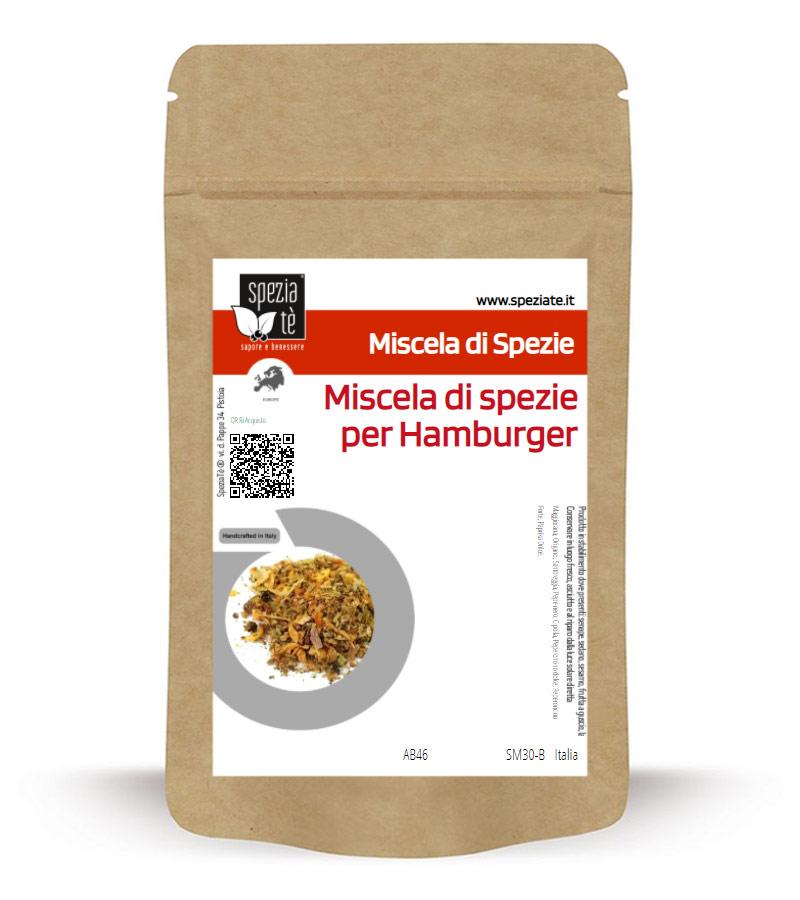 Miscela di spezie per Hamburger in Busta richiudibile Salva Fragranza