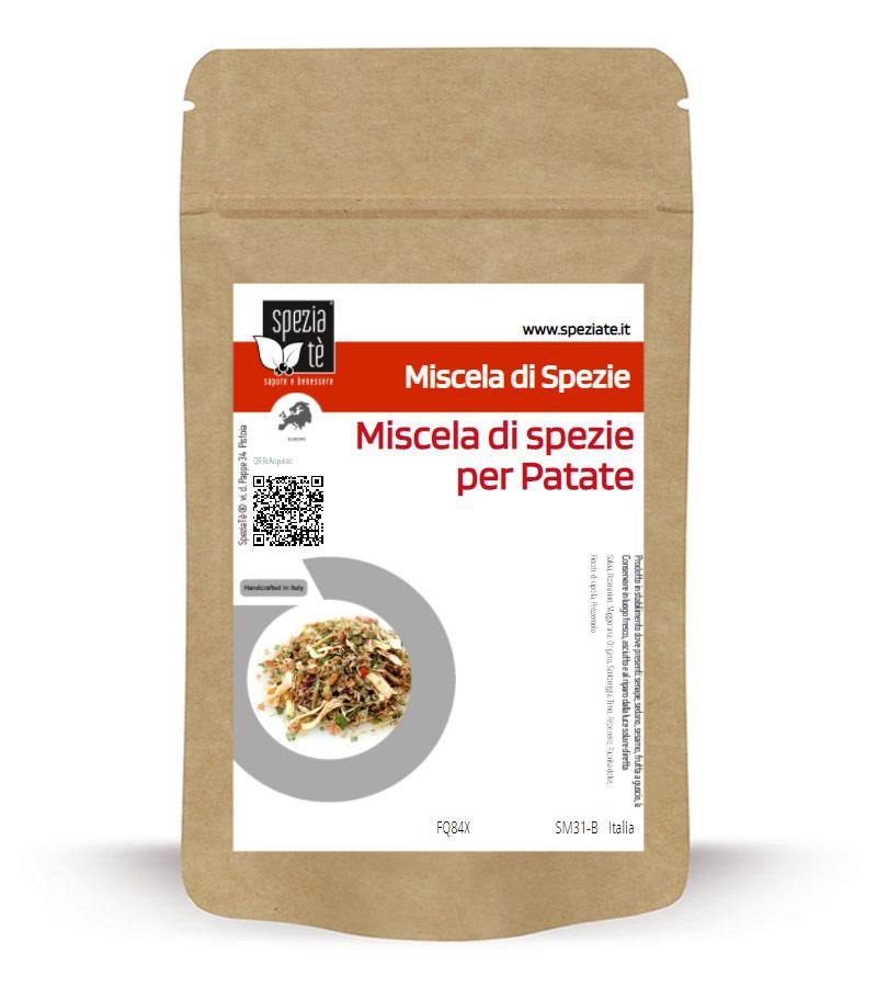 Miscela di spezie per Patate in Busta richiudibile Salva Fragranza