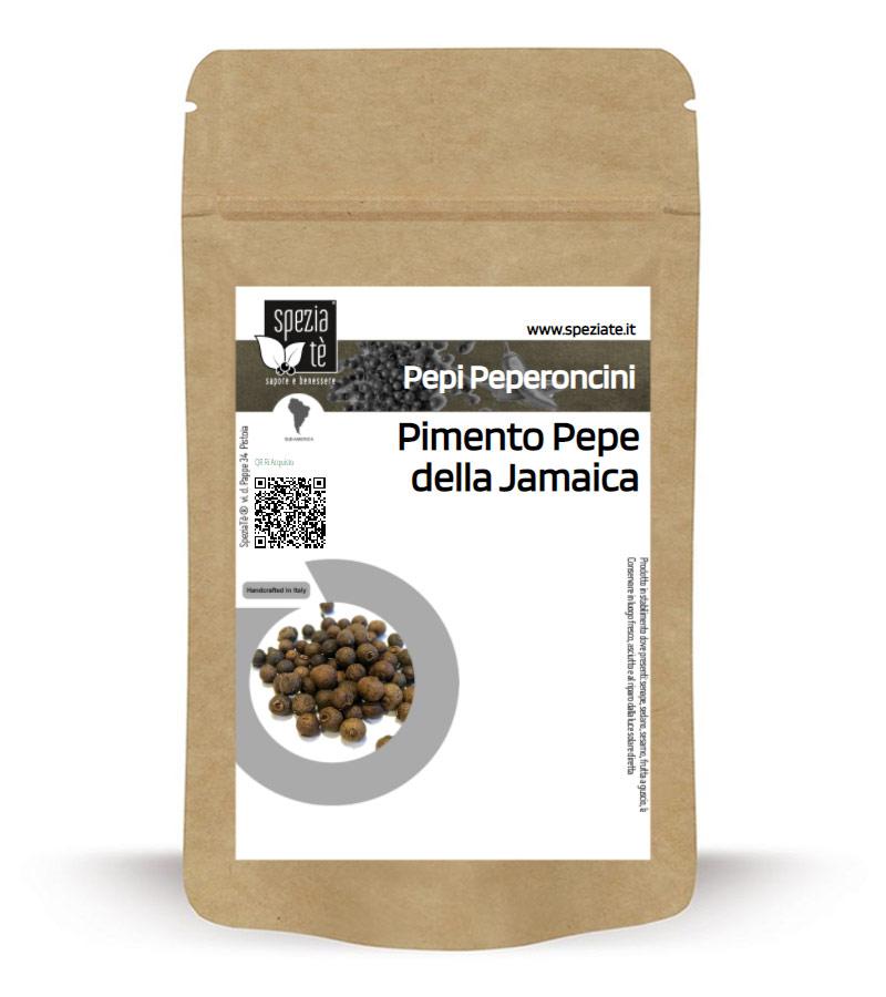 Pimento Pepe della Jamaica o pepe garofanato in Busta richiudibile Salva Fragranza