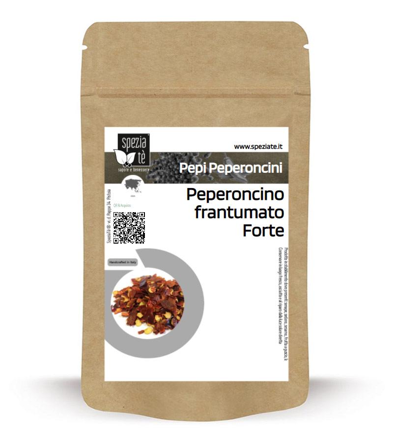 Peperoncino frantumato piccante in Busta richiudibile Salva Fragranza