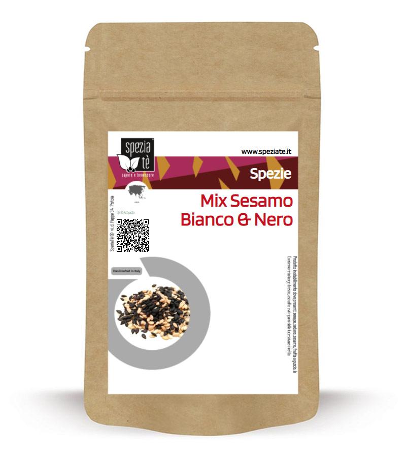 Mix di sesamo Bianco&Nero in Busta richiudibile Salva Fragranza