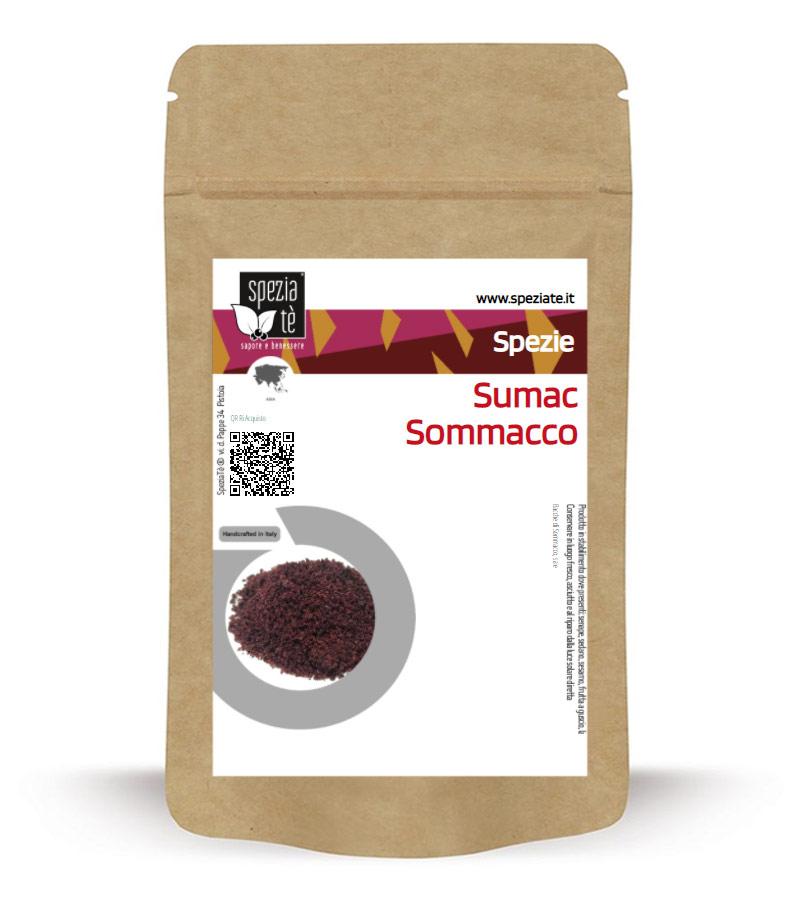 Sommacco siciliano o Sumac in Busta richiudibile Salva Fragranza