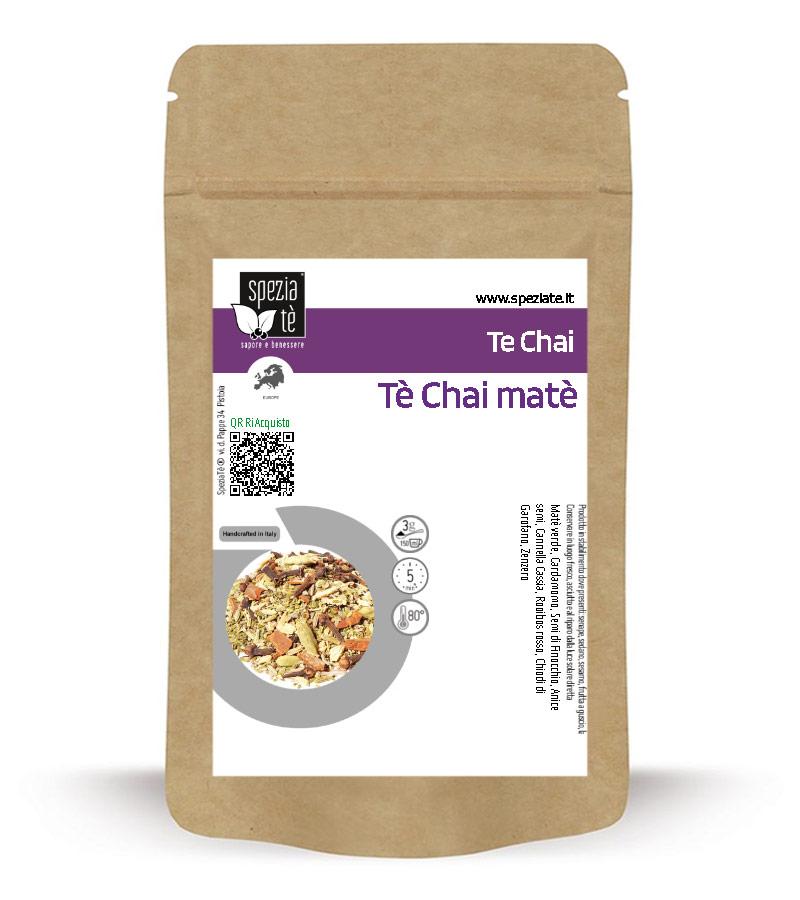 Tè Chai matè BIO in Busta richiudibile Salva Fragranza