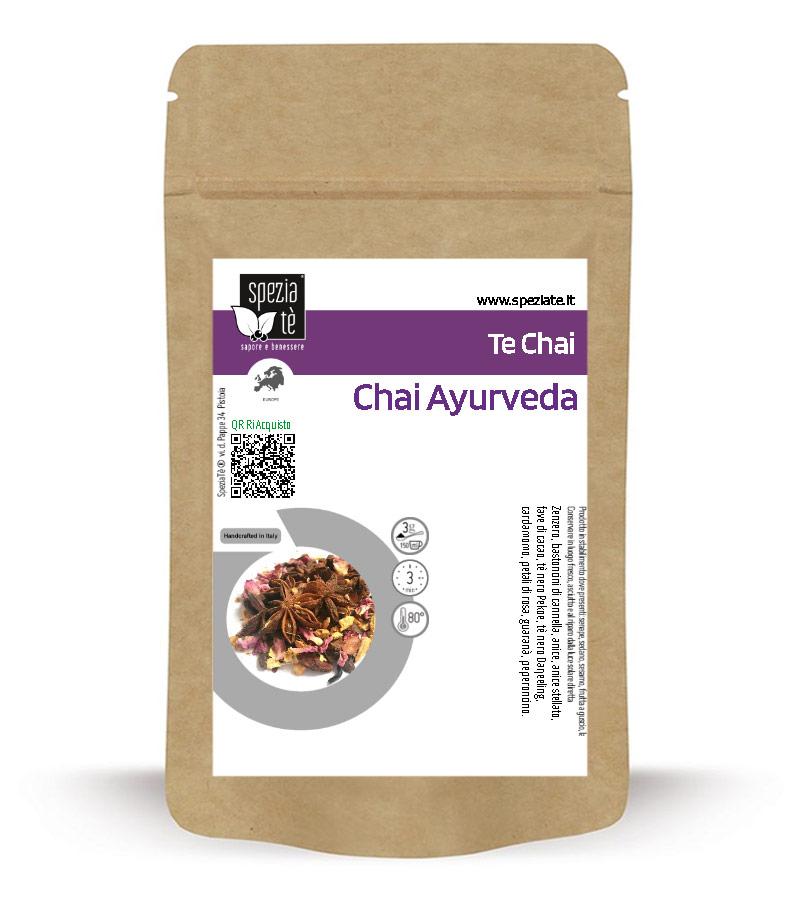 Tè Chai Ayurveda in Busta richiudibile Salva Fragranza