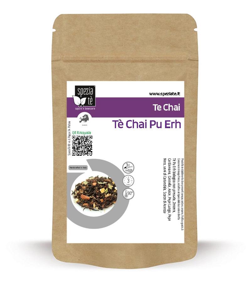 Tè Chai Pu Erh in Busta richiudibile Salva Fragranza