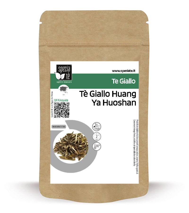 Tè Giallo Huang Ya Huoshan in Busta richiudibile Salva Fragranza
