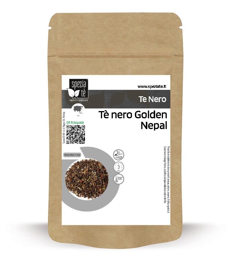 Tè nero Golden Nepal in Busta richiudibile Salva Fragranza