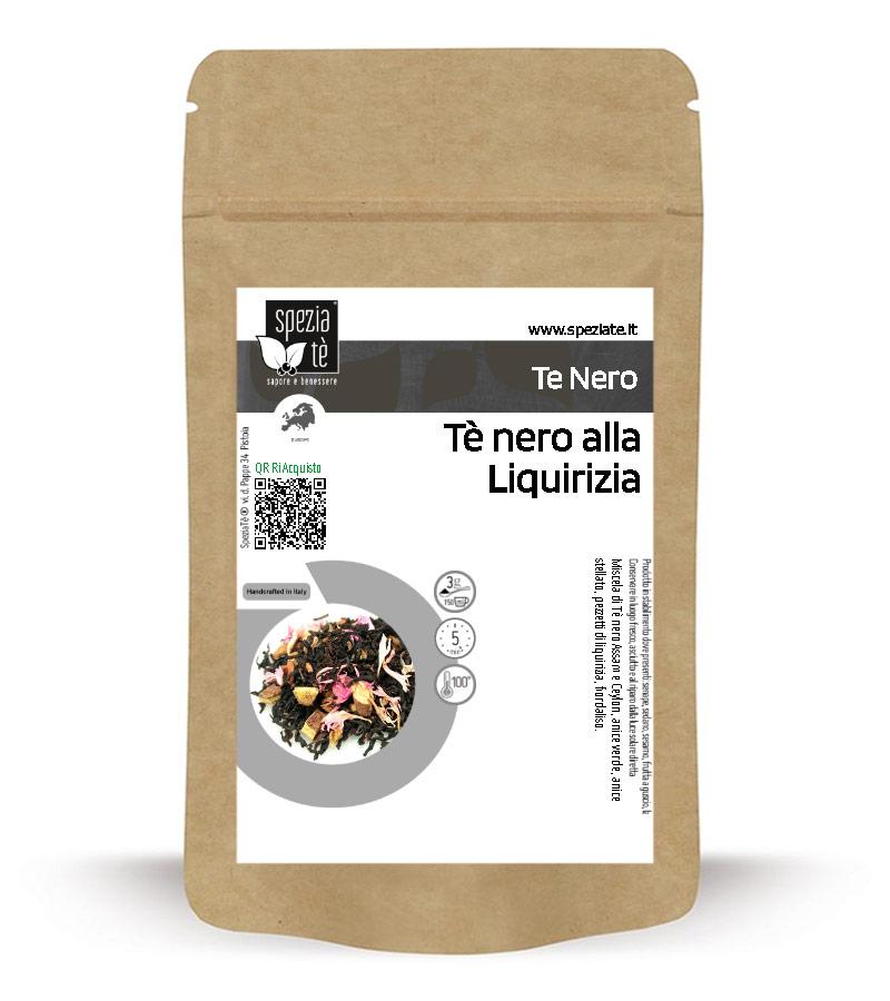 Tè nero alla Liquirizia in Busta richiudibile Salva Fragranza